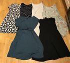 Bundle Of 6 Maternity Pregnancy Dresses 10-12 Medium TopShop H&M Mothercare