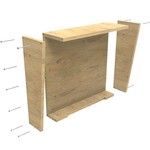 back box whit screw
