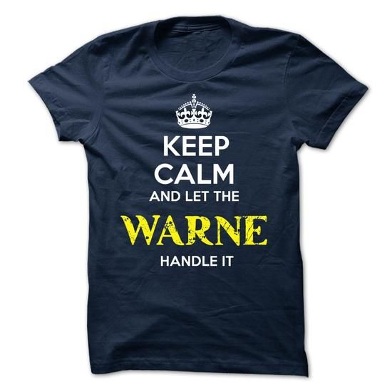 WARNE - KEEP CALM AND LET THE WARNE HANDLE IT - #shirt fashion #red sweater. WANT THIS => https://www.sunfrog.com/Valentines/WARNE--KEEP-CALM-AND-LET-THE-WARNE-HANDLE-IT-52194452-Guys.html?68278