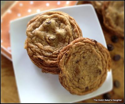 The Dutch Baker's Daughter: Sea Salt and Dark Chocolate Chip Cookies