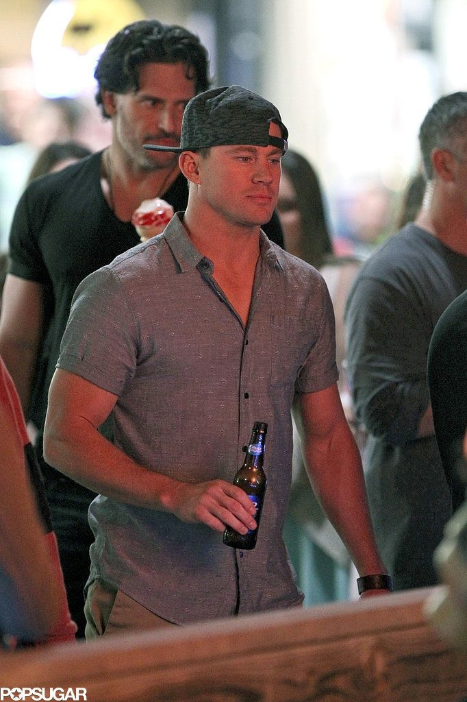 Magic Mike XXL set pictures