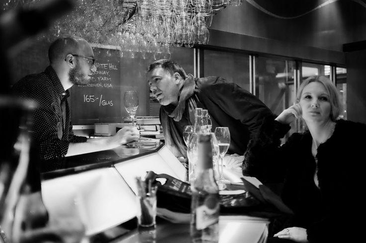 Rainer & Anna (and a bartender) @ Eriks vinbar