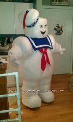 Fun Homemade Stay Puft Marshmallow Man Halloween Costume ... This website is the Pinterest of costumes