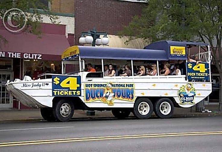 National Park Duck Tours | Hot Springs, Arkansas: around $18/person