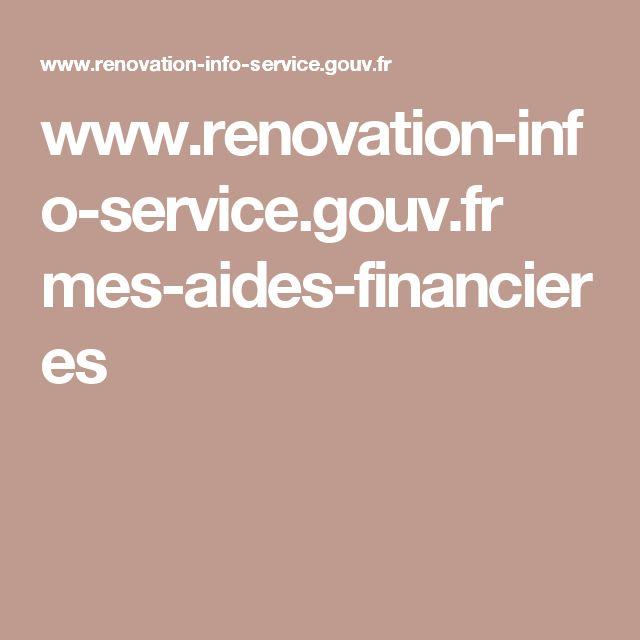www.renovation-info-service.gouv.fr mes-aides-financieres