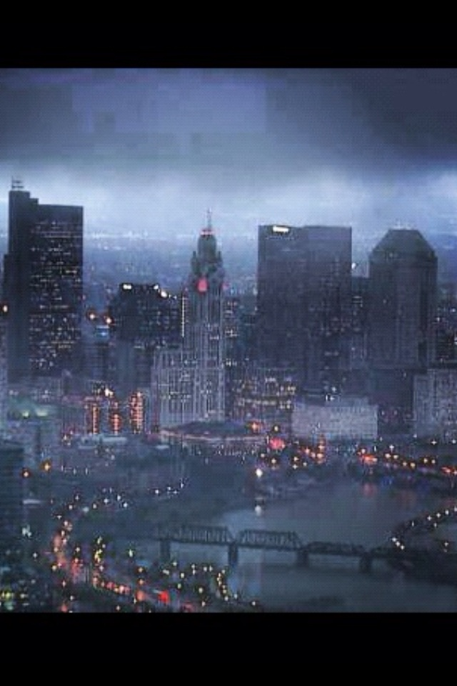 COLUMBUS OHIO Looking like Gotham city in the Batman Movie
