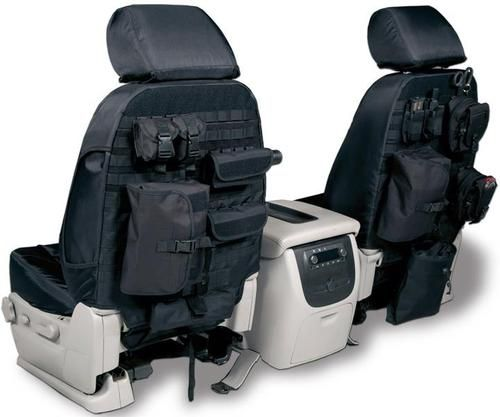 King's Arsenal tactical seat covers.