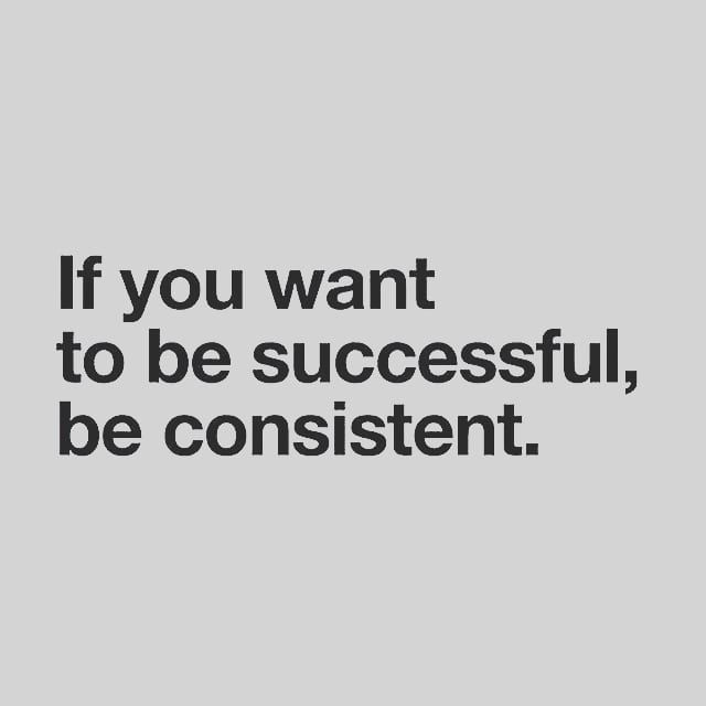 Reposting @the.crypto.gram: Consistency is definitely key! Eventually all the necessities will become habit and that's when you start winning. ✔ . For more follow ➡️ @the.crypto.gram ⬅️ . . . . #inspiration #motivation #consistency #success #pos
