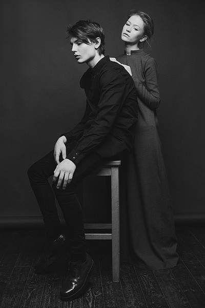 Fashion designer Edie Karimova. ediekarimova.com  #darkstyle #love #model #fashion #allblack #blackandwhite #mood #grey #dress #menswear #black #shirt