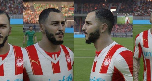 FIFA 15 Konstantinos Mitroglou Face (Yüz) by ily94