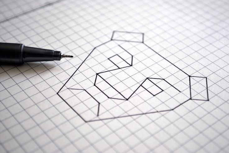 Lion Logo. #lion #roar #grid #sketch #logo #logodesign #design #lionking #symmetry #geometry