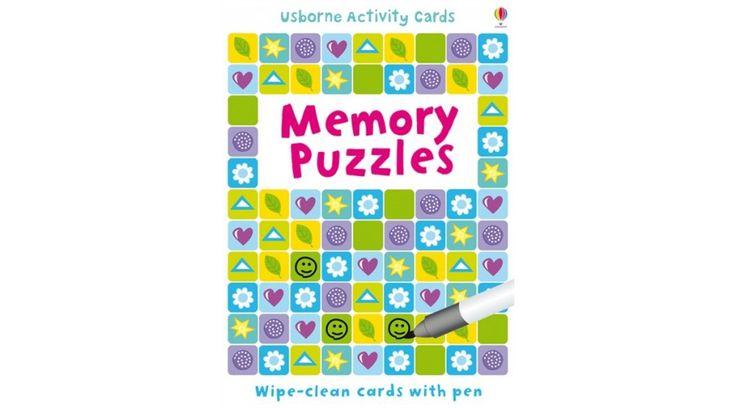 Memory Puzzles Firka-kártya (angol nyelvű játék) - ennél nincs jobb játék utazáshoz ;-) #usborne #memorypuzzles #okosodjvelunk