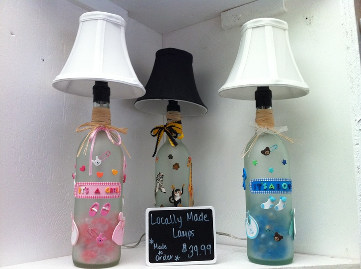 Hand-made lamps from PNC 2nd Street Market vendor Pure Beginning