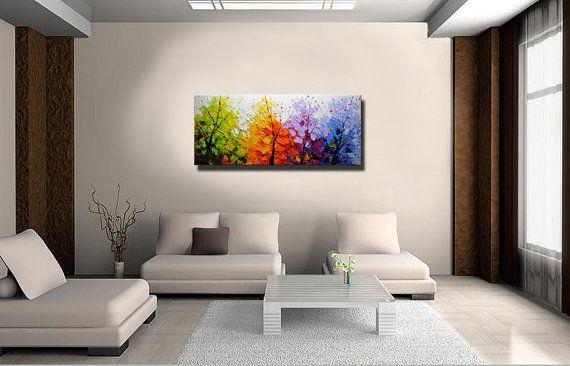 Original pintura abstracta pintura texturizada moderna