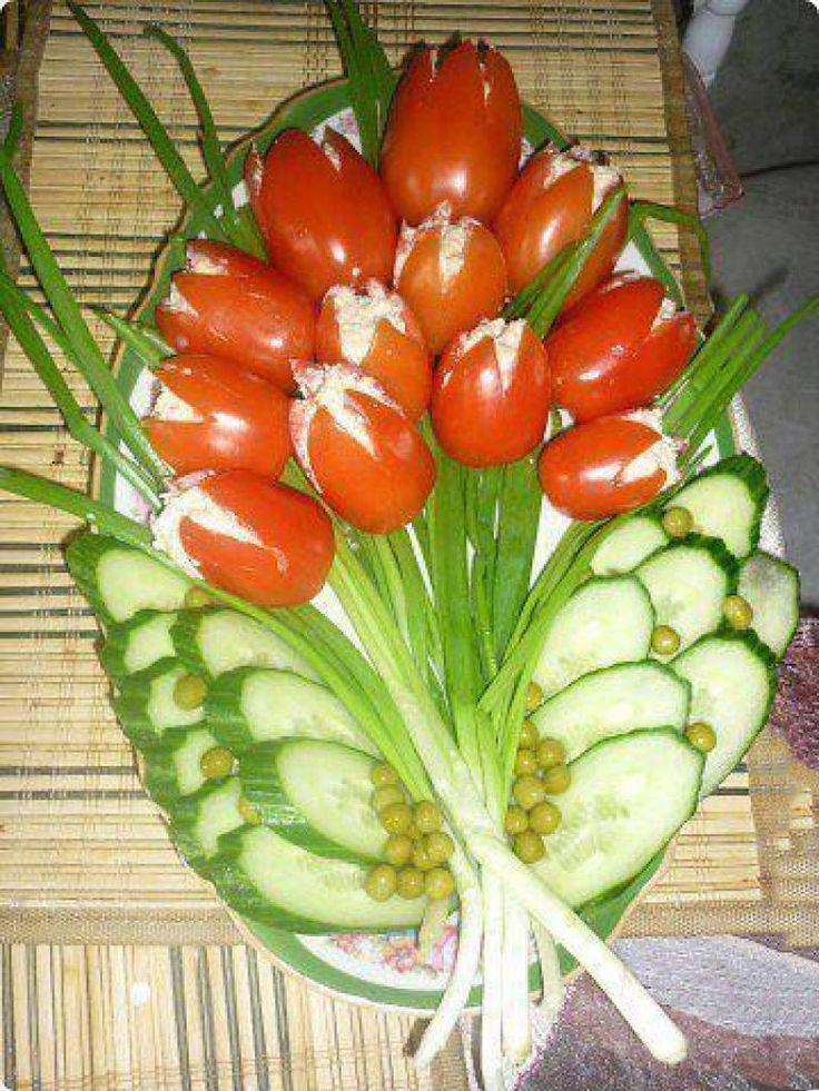 Top 3 salate în formă de flori excelente pentru masa de Crăciun sau Revelion! - Bucatarul