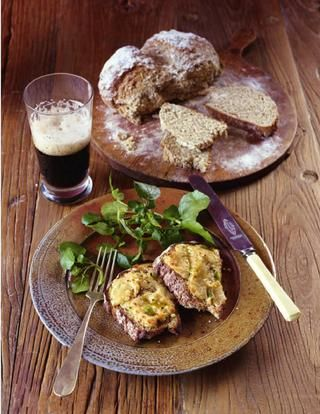 Soda bread is one of the easiest breads to make and this Irish rarebit is the perfect way to make a supper from it. From Paul Hollywood's Bread