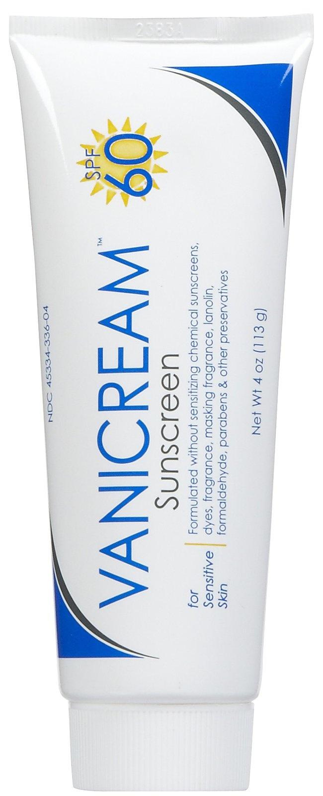 Vanicream Sunscreen SPF 60 4 oz Best Price. doc said