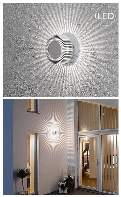 Fancy Konstsmide LED Wandleuchte Monza f r drau en cm