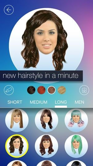 Neue Welche Frisur Passt Mir App Online Frisuren Ideen Pinterest
