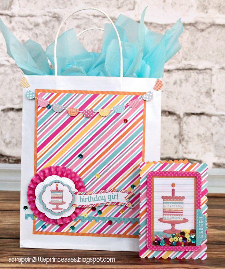 Doodlebug Design Inc Blog: Sugar Shoppe: Gift Bag & Card Set by Candace