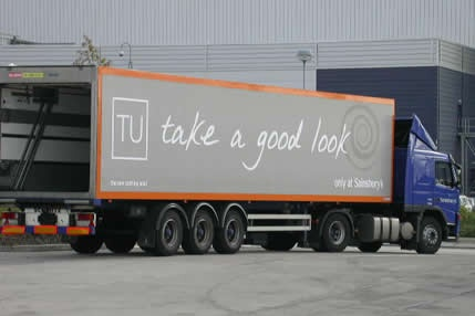 tu distribution lorry