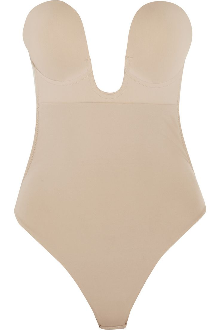 THE most amazing low-back solution that actually gives you support. Way better than a sticky-bra|U-Plunge self-adhesive bodysuit|NET-A-PORTER.COM