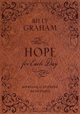 Leading inspirational author and pastor Billy Graham shares words of wisdom and inspiration for hope-filled living every morning and evening.