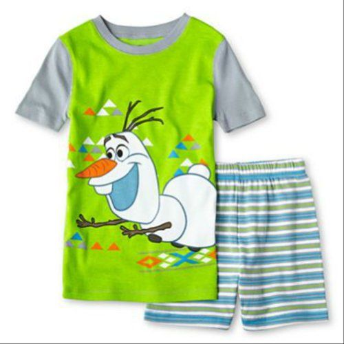 Disney - Frozen - Olaf 2 Piece Pajama Set for Boys Do not iron decoration.  Machine wash inside out on warm. Pajamas featuring Olaf from Disney's Frozen .