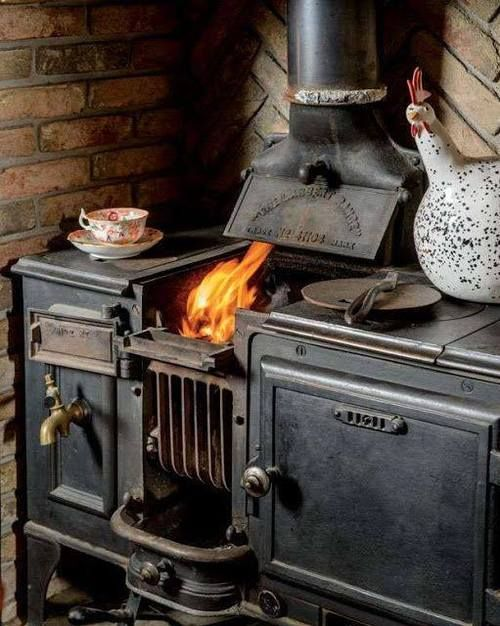 One of the best additions to any cabin - a wood cook stove. Take your time. Shop carefully.