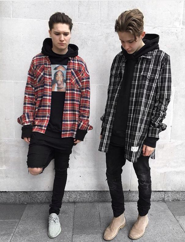 Grunge Style Fashion Street Urban Clothes