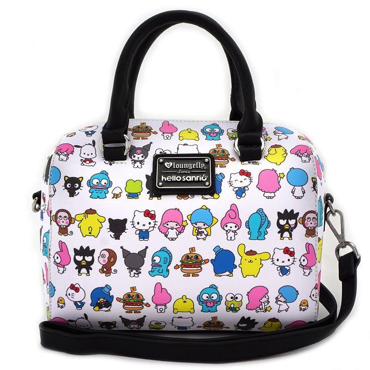 Loungefly x Hello Sanrio Squad Duffle Bag
