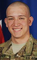 Army Pfc. Dustin P. Napier  Died January 8, 2012 Serving During Operation Enduring Freedom  20, of London, Ky., assigned to 1st Battalion, 24th Infantry Regiment, 1st Stryker Brigade Combat Team, 25th Infantry Division, Fort Wainwright, Alaska; died Jan. 8 in Zabul province, Afghanistan, of injuries sustained from enemy small-arms fire.