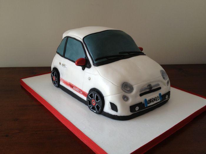 Fiat 500 abarth cake