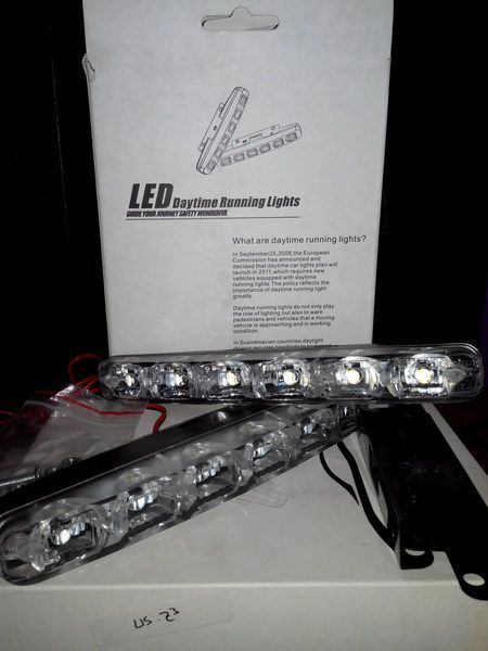 Lampu Drl Led 6 Titik Super Bright