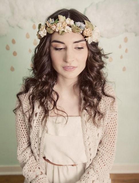 : Ring, Wedding Hair, Flower Crowns, Wedding Ideas, Crown, Hairstyle, Floral Crowns, Flower