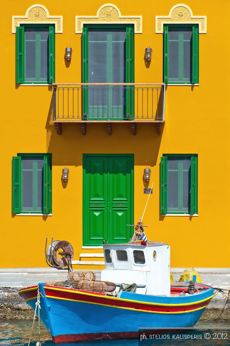 Traditional Kastellorizo, Greece / Photo by Kalisperis photography https://www.facebook.com/pages/Kalisperis-Photography/162852987093160