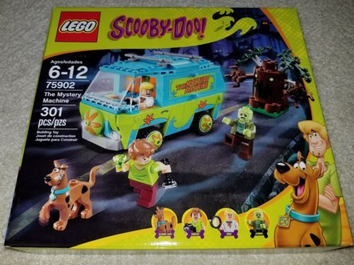 LEGO 75902 Scooby-Doo THE MYSTERY MACHINE Fred Shaggy Zombie mini figures NEW