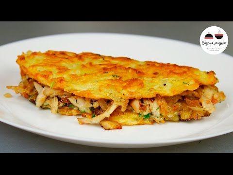 """Драники с курицей """"Семейные"""" - кулинарный рецепт"""
