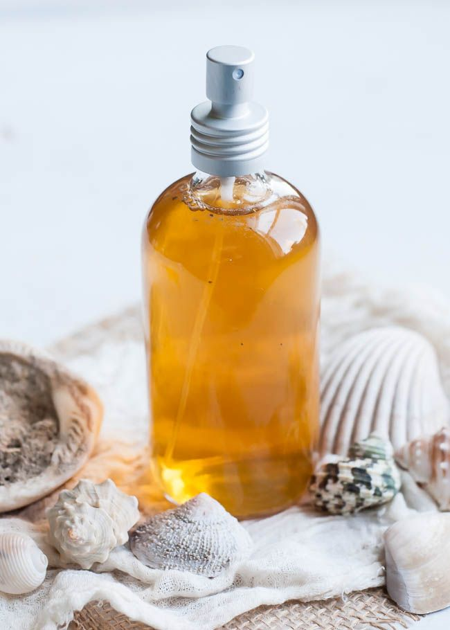DIY: sea spray for hair + body