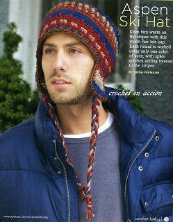 Crochet En Acción: Gorro Aspen - Aspen Hat Free Pattern