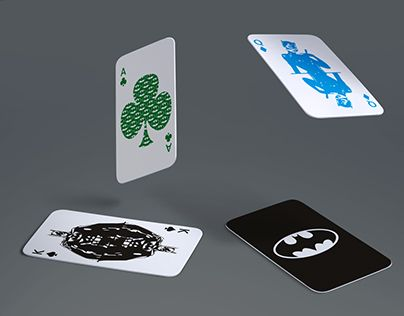 """Check out new work on my @Behance portfolio: """"Cards with Batman's motive"""" http://be.net/gallery/48782665/Cards-with-Batmans-motive"""