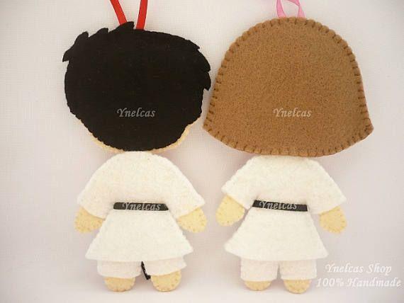 Karate se sentía ornamento de la Navidad para niño y niña