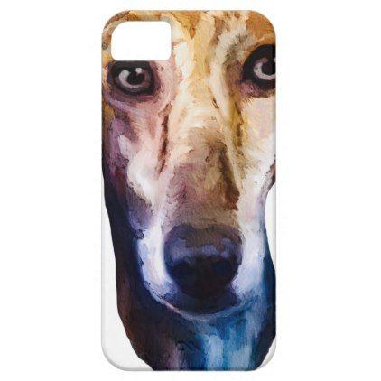 Cute Lurcher iPhone SE/5/5s Case - personalize cyo diy design unique