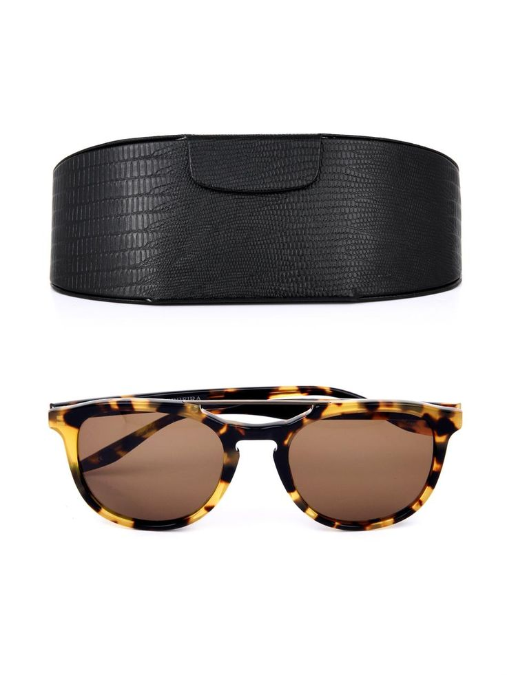 Barton Perreira Rainey round-framed sunglasses