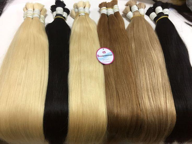 Bulk refers to a bundle of hair with no weft. Bulk…
