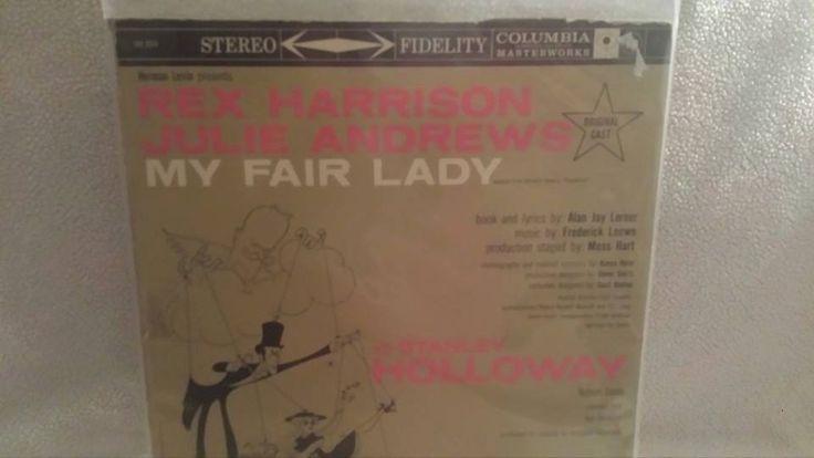 My Fair Lady Vinyl Album, Julie Andrews,Rex Harrison,Vintage, Columbia LP, 1959, Original London Cast, My Fair Lady by JunkYardBlonde on Etsy