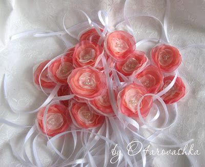 цветочки для подружек невесты