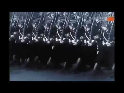 Horst-Wessel-Lied - Wehrmacht Marching to Anthem of Nazi Germany - YouTube