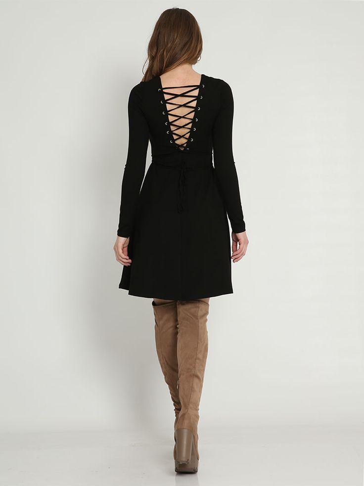 Φόρεμα με κορδόνι στην πλάτη - 14,99 € - http://www.ilovesales.gr/shop/forema-me-kordoni-stin-plati/ Περισσότερα http://www.ilovesales.gr/shop/forema-me-kordoni-stin-plati/