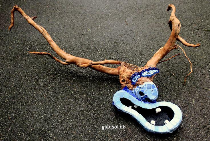 Nordic Troll. Mosaic mask